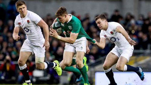 Ringrose returns to training for Ireland
