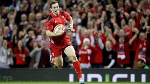 Hogg sees red as Wales run riot