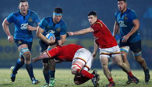 Five uncapped players in final Italy squad