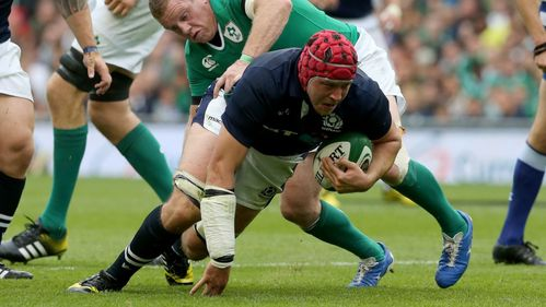 Visser backs Gilchrist to make a splash with Scotland