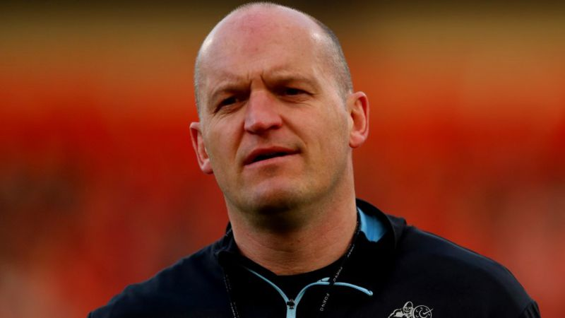 Gregor Townsend is hopeful his side can out-work Australia