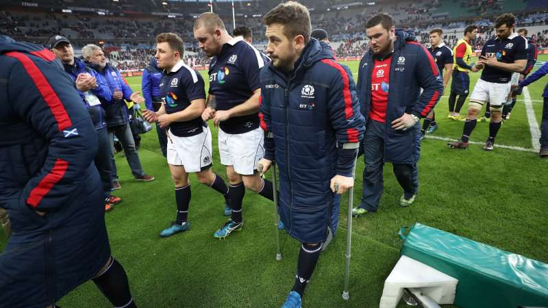 Laidlaw ruled out for rest of 2017 Championship