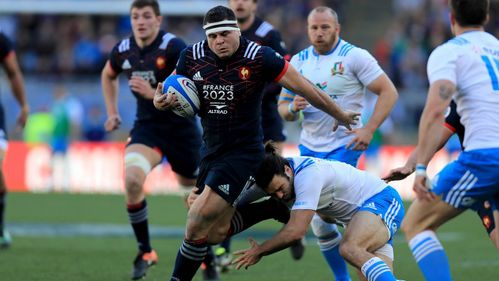 Image result for France vs Italy Rugby