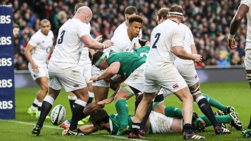 Ireland finish with a flourish against champions England