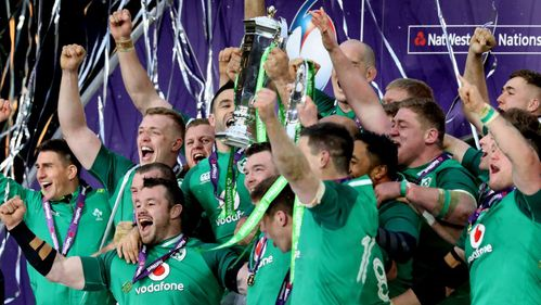 Ireland clinch Grand Slam in style at Twickenham