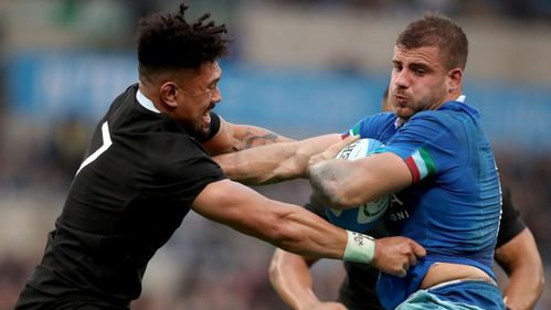 L'Italie impuissante face aux All Blacks