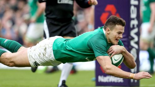 Henshaw and Stockdale double up as Ireland cruise
