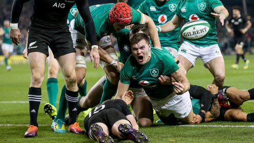 Ireland make history with victory over the All Blacks