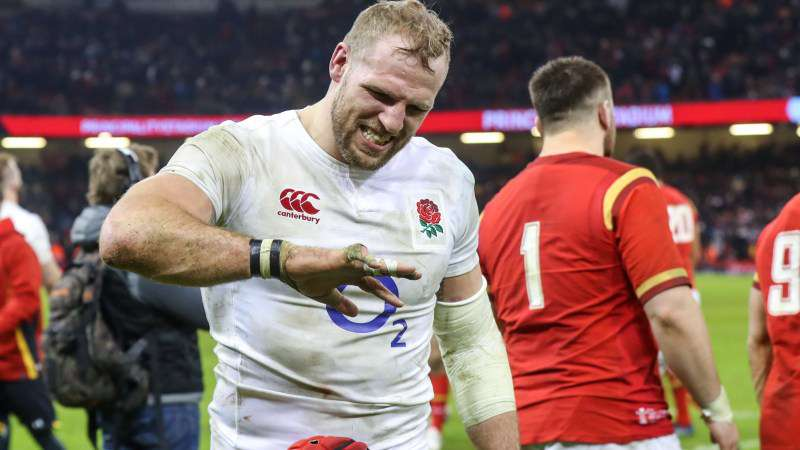 Haskell relieved to be back for England after frustrating absence