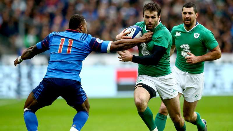 Payne to miss the start of Ireland's RBS 6 Nations