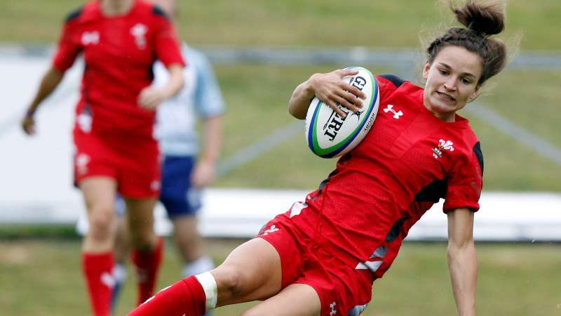 Olympian Joyce scores twice in huge Wales win