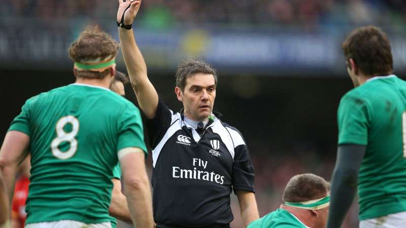Match Officials for 2017 RBS 6 Nations announced