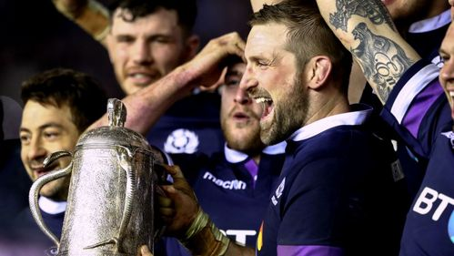 Jones double helps Scotland to brilliant Calcutta Cup success