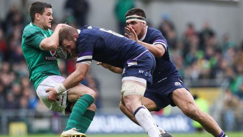Barclay relishing opportunity to face Ireland Grand Slam stars