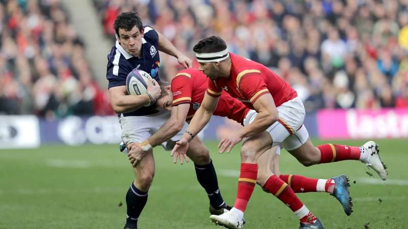 Scotland lose Hardie for the rest of the Championship