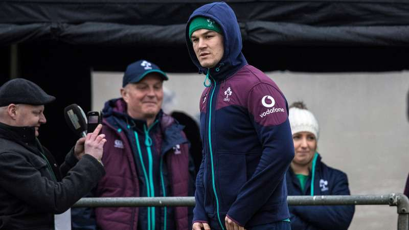 Ireland's Sexton on track for France return