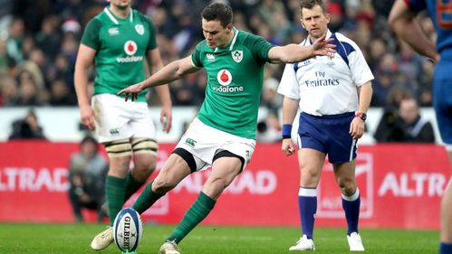 Sexton drop goal gives Ireland last-gasp victory in Paris