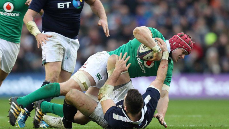 Trimble ruled out of Six Nations