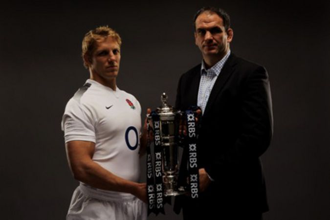 Lewis Moody and Martin Johnson