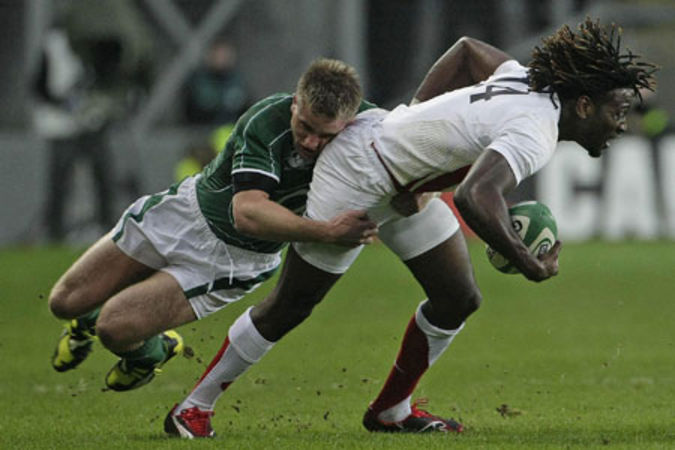 Luke Fitzgerald & Paul Sackey