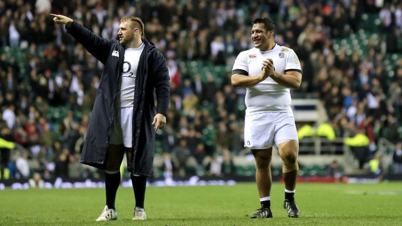 Joe Marler and Mako Vunipola