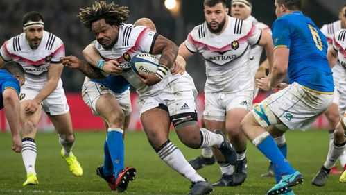 Bastareaud returns in style to help France past Italy