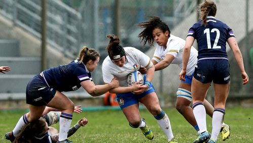 Italy Women finish with bonus point with over Scotland