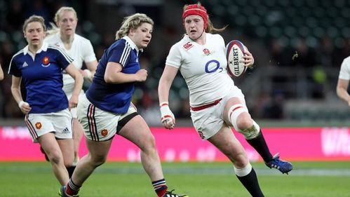 TEAMMATES FEATURE - England Women star Harriet Millar-Mills