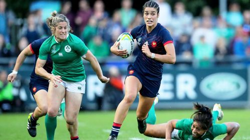 England and France set up semi-final showdown at Women's Rugby World Cup
