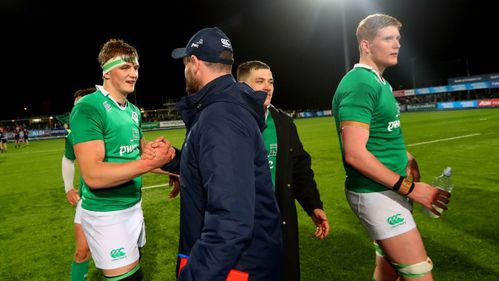 Carolan hails Ireland Under-20s strength of character