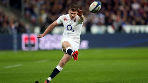 England's Farrell sets sights on double