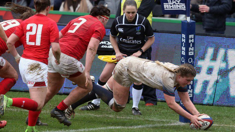 Poppy Cleall, England, Wales, Women's Six Nations, 6 Nations