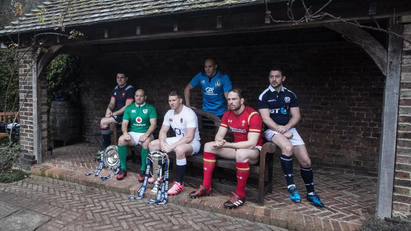 The 2017 RBS 6 Nations launches in London : RBS 6 Nations