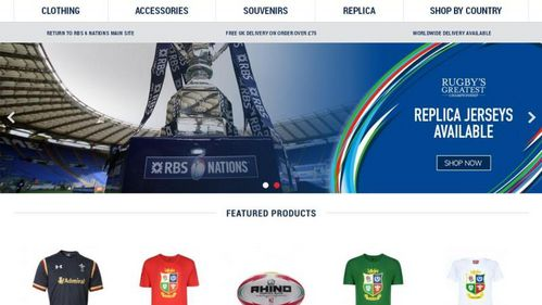 Check out the new RBS 6 Nations store