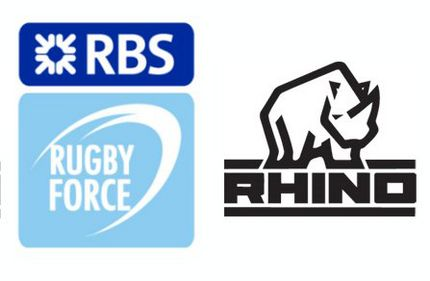 RBS RugbyForce teams up with rugby equipment supplier Rhino
