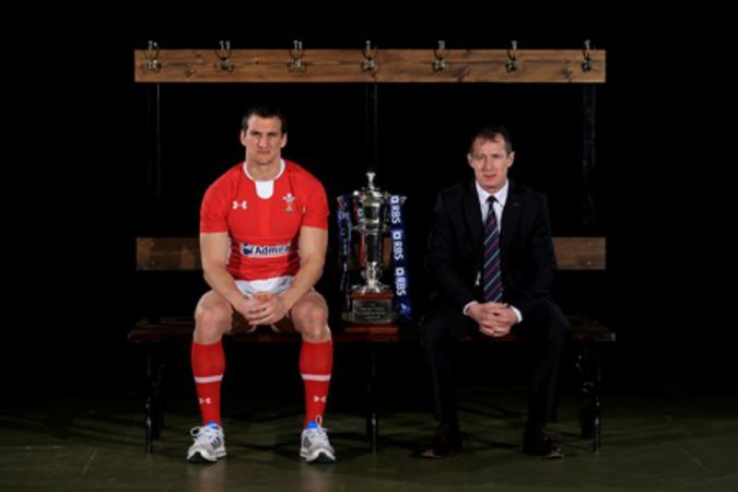 Rob Howley and Sam Warburton