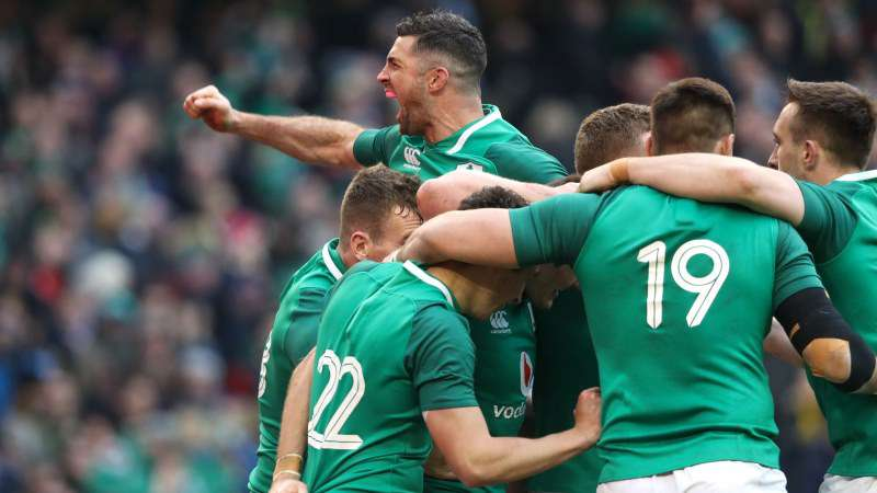 HIGHLIGHTS: Ireland 37 Wales 27