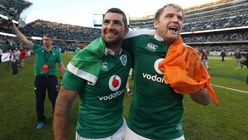 Kearney and Heaslip sidlined for a number of weeks