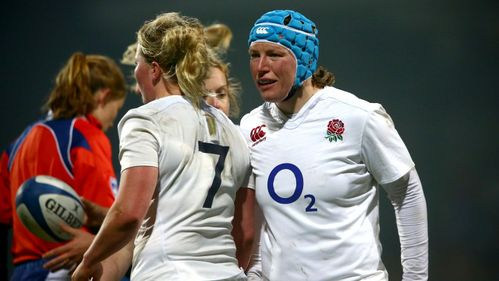 England women execute under pressure to down France
