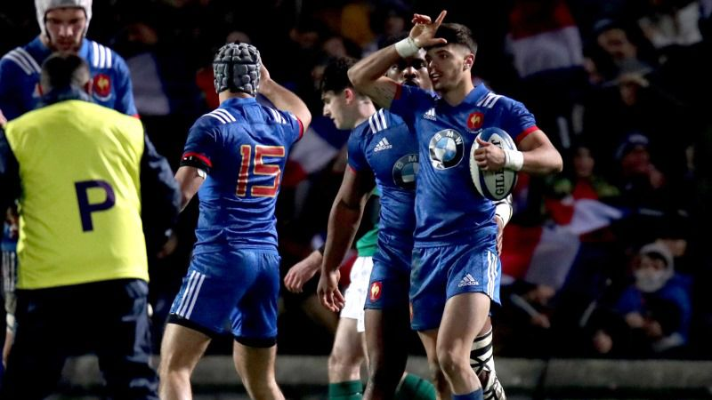 Ntamack at the double for france under 20s against ireland - Rugby six nations results table ...