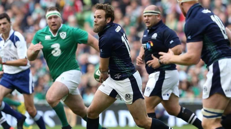 Jackson wanting more game time for Scotland