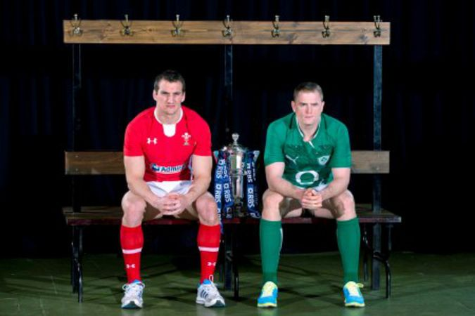 Sam Warburton and Jamie Heaslip