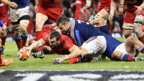 North centre of attention as Wales overpower France