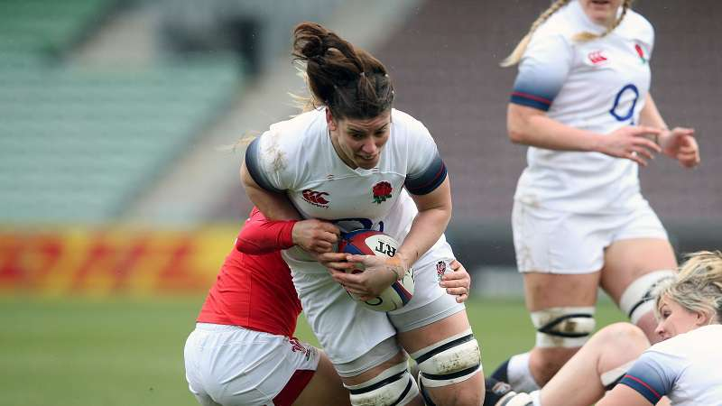 Women's Six Nations players prepare for festive fixtures