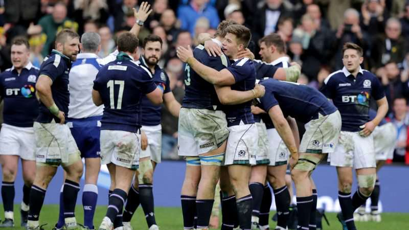 Social media reacts to Scotland's historic win over Wales