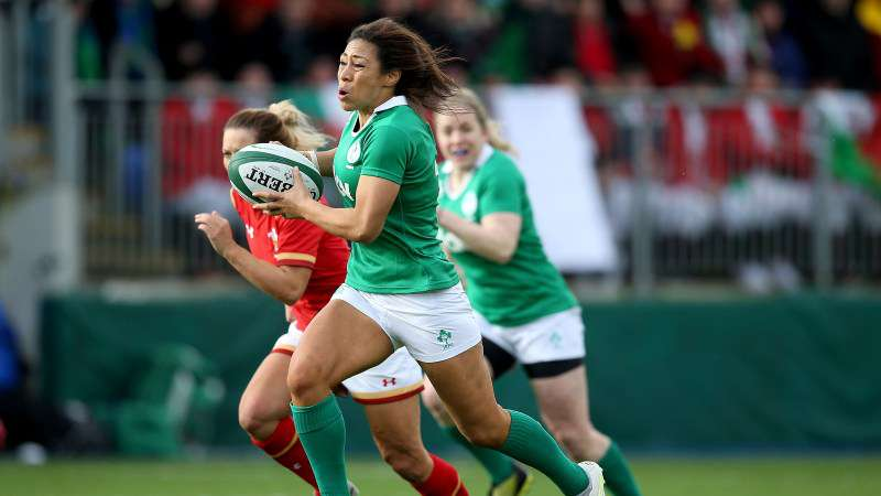Naoupu shines as Ireland women open with a win