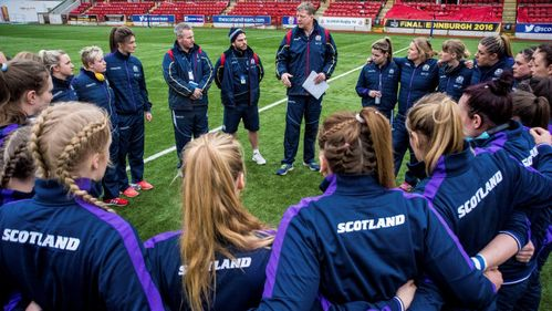 Munro gearing up for Scotland's qualification showdown