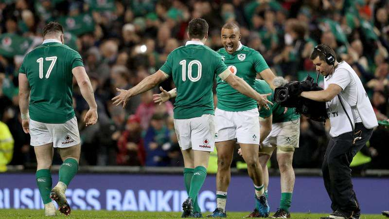 Ireland seal fourth place in world rankings after Round Five
