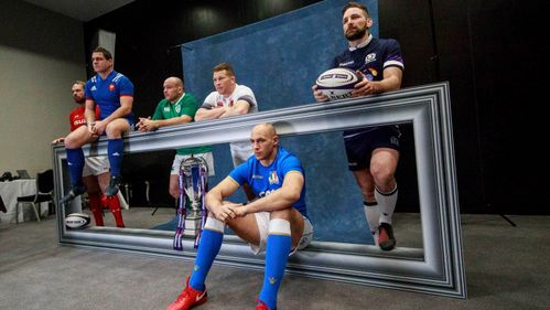 Coaches and captains come together for NatWest 6 Nations launch