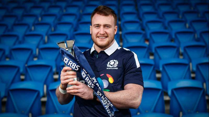 Stuart Hogg awarded 2017 RBS Player of the Championship for the second year in a row